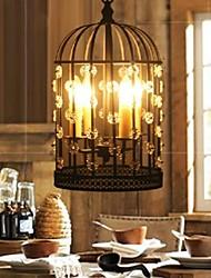 gaiola de metal 4-luz do candelabro