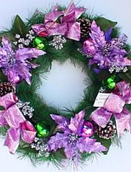 50cm фиолетовый рождественские сосна гирлянда
