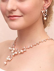 Jewelry Set Women's Anniversary / Wedding / Engagement / Birthday / Party / Special Occasion Jewelry SetsCubic Zirconia / Imitation Pearl