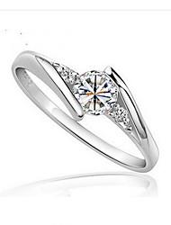 Women's Fashion Zircon Wedding Ring
