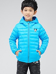 Boy's Cashmere Down & Cotton Padded,Winter Solid