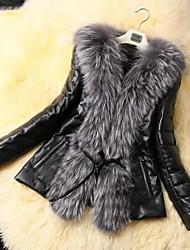 Fur Coats Fur Jacket Women's Fashion Slim Fur Jacket