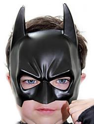 schwarze Batman Batman PVC-Halloween-Party Augenmaske