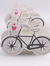 Vintage-Inspired Bicycle Favor Box(Set of 12)