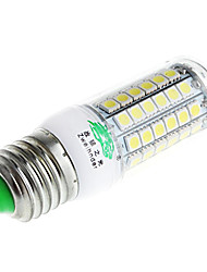 Zweihnder  E27 7W 700lm 6500K 69 x SMD 5050 Lamp LED White Light Corn Light (AC 220V)