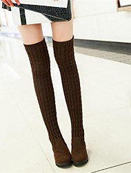Women's Shoes Fashion Boots Low Heel Over The Knee Boots More Colors available