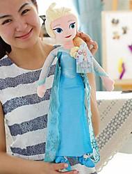 princesa brilho recheadas boneca de pelúcia macia de 21 polegadas