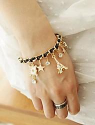 diamonade elegante pulseira borla