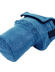 Siyoone A23-S Blue PU Leather Camera Bag For Canon700D 600D 650D /Nikon D7000D104