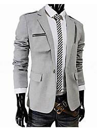 y&monopetto giacca sportiva sottile fit uomini zy di