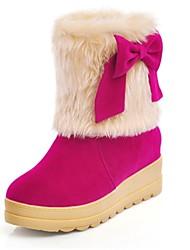 botas sapatos da moda das mulheres de baixa calcanhar ankle boots com bowknot mais cores disponíveis