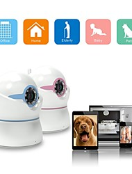 IBCAM - Wireless IP Network WiFi Security Camera for Home, Baby with 1.3MP 960P, P/T/Z, P2P, Music Play Functions.