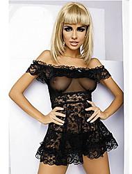 aimore donne sexy fuori dalla nightwear pizzo spalla