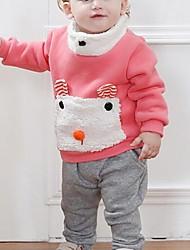 милый плюшевый мишка флис с длинными рукавами костюм брюки девушки