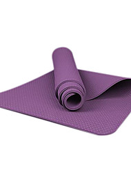 8MM TPE Solid Color Fitness Yoga Mat