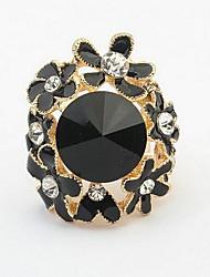 женская прелесть горный хрусталь цветок горный хрусталь камень кольцо