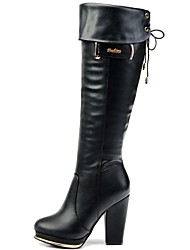 Women's Shoes Guciheaven Fashion Boots Chunky Heel Knee High Boots