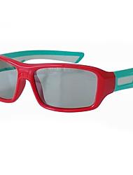 gafas 3D polarizadas circulares estéreo para niños sin flash, el cine, Changhong, TCL televisores 3d equipo en general