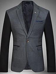 Men's Splicing Fashion Leisure Suit