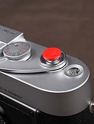 cam-in poco profondo concavo pulsante di scatto della fotocamera (rosso)