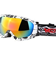 Northwolf Snow Googgles White Spot Frame Orange Blue Mirror Lens