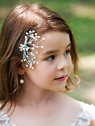 Women's Flower Girl's Alloy Headpiece-Wedding Special Occasion Hair Combs