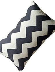 черный и белый матч декоративная подушка со вставкой