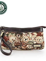 DAKA BEAR® European Style Clutch Bag Female Evening Bag Wallet Purse