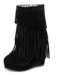 Daff Fashion Casual Popular Tassel Boots Shoes