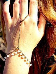 Women's Fashion Pearl Mittens Bracelet