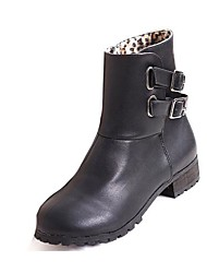 Women's Shoes Motorcycle Boots Low Heel Ankle Boots More Colors available