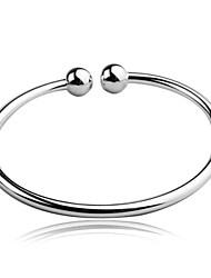 encantador ródio pulseiras ajustáveis # bg100149