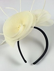 Women's Leather Headpiece-Wedding Special Occasion Headbands