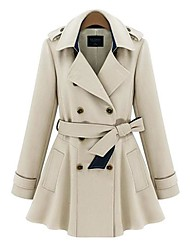 Women's Double-breasted Outerwear