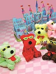 aparelhos banheiro, criativo urso toalha de fibra superfina forma, férias ou presente de aniversário (cor aleatória)
