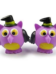 aigle en forme de halloween caoutchouc série grincement jouet pour animaux de compagnie chiens chats