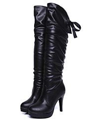 Women's Shoes Fashion Boots Stiletto Heel Knee High Boots