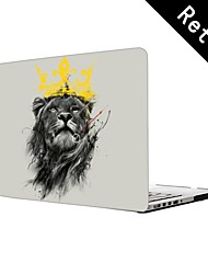 "King Lion Design Full-Body Protective Plastic Case for 13""/15"" MacBook-Pro with Retina Display"
