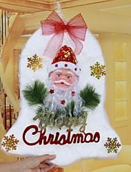 Christmas Ornaments weißen Baumwoll Glocke