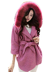 Women's Fashion Winter All-match Tweed Coat