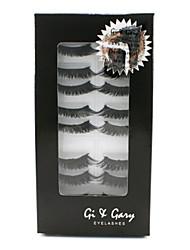 Gi & Gary Dark Angel Eyelashes Set 10 pairs