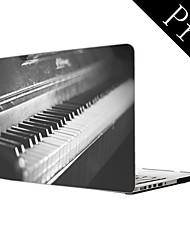 """Old Vintage Piano Design Full-Body Protective Plastic Case for MacBook Pro 13""""/15"""" (Non-Retina)"""