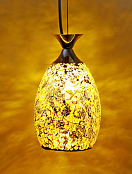 Luxury Mosaic Glass Pendant