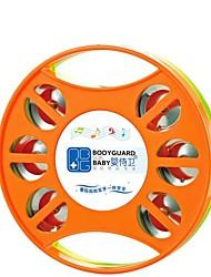 la musique de haute qualité tambourin tambour rond anneau bébé cloche de la main de bande dessinée jouets clochette jouet éducatif
