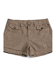 youlanyasi®women Check Tweed kurze Hosen (mehr Farben)
