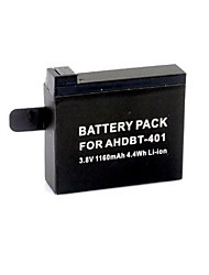G-665   AHDBT-401 3.8V 1160mAh Li-ion Polymer Battery for GoPro HD Hero 4