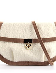 Matte Silk Casua/School Cross-Body bags/Shoulder Bags with Metal(More Colors)