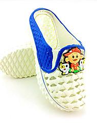 Zapatillas ( Azul/Amarillo/Rosado ) - Deslizar/Comfort - Goma