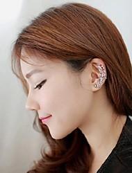 corona de la moda clip de aretes de diamantes ms oído (1 unidad)