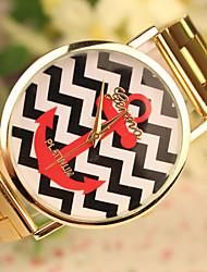 la mode de la montre de ceinture en acier des femmes xintianshi